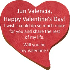 Let's see some love! Send your loved one a Valentine's message.